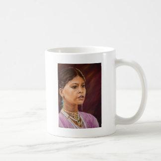Young Girl, Jaisalmer Classic White Coffee Mug