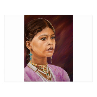Young Girl, Jaisalmer Postcard