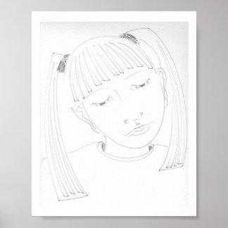 Young Girl Print