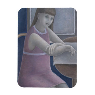 Young Girl Reading 2008 Magnet