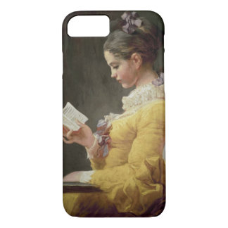 Young Girl Reading, c.1776 iPhone 7 Case