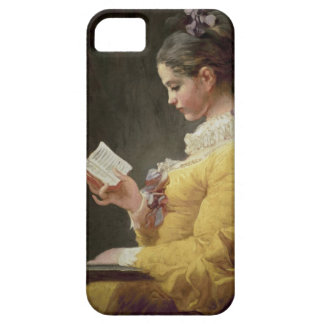 Young Girl Reading, c.1776 iPhone SE/5/5s Case