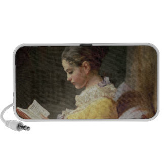 Young Girl Reading, c.1776 Mini Speakers
