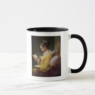 Young Girl Reading, c.1776 Mug