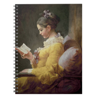 Young Girl Reading, c.1776 Notebook