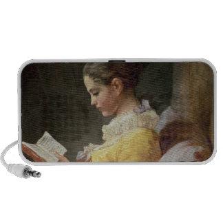 Young Girl Reading, c.1776 Mini Speaker