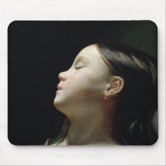 Young Girl Sleeping, 1852 Mouse Pad