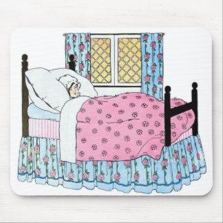 Young Girl Sleeping, Mousepad