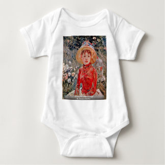 Young Girl With A Cage By Morisot Berthe Tees