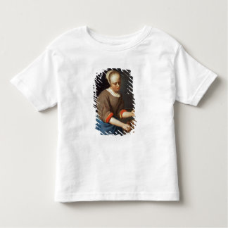Young girl with a pestle and mortar toddler t-shirt