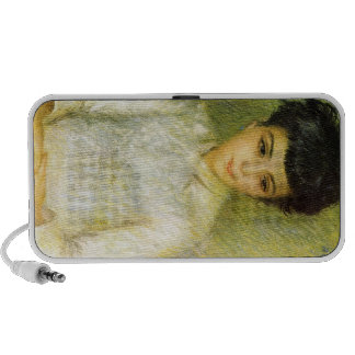 Young girl with brown hair by Pierre Renoir Speakers