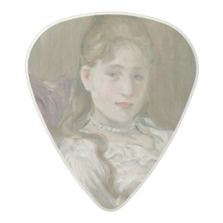 Young Girl with Cat, 1892 Acetal Guitar Pick