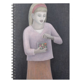 Young Girl with Sweets 2007 Notebook