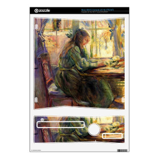 Young girl writing by Berthe Morisot Decal For The Xbox 360 S