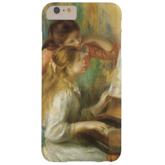 Young Girls at Piano by Renoir, Vintage Fine Art Barely There iPhone 6 Plus Case