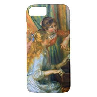 Young Girls at the Piano by Pierre Renoir iPhone 8/7 Case