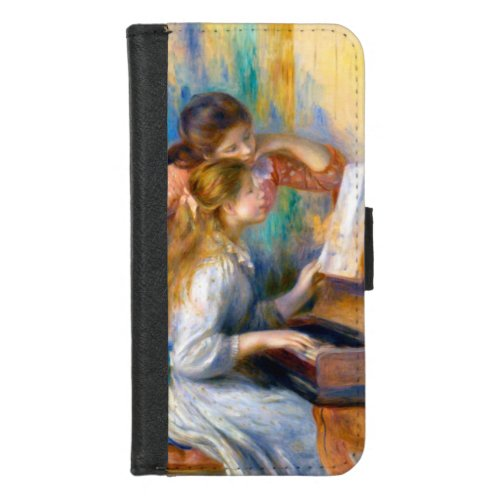 Young Girls at the Piano, Renoir Phone Case