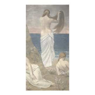 Young Girls by the Seaside by Puvis de Chavannes Card
