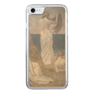 Young Girls by the Seaside by Puvis de Chavannes Carved iPhone 7 Case