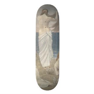 Young Girls by the Seaside by Puvis de Chavannes Skate Board Decks