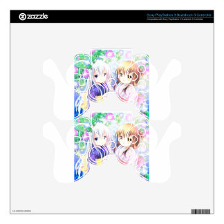 Young Girls In Yukata PS3 Controller Decal