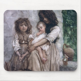 Young girls of Ischia Mouse Pad