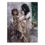 Young girls of Ischia Postcard