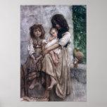 Young girls of Ischia Poster