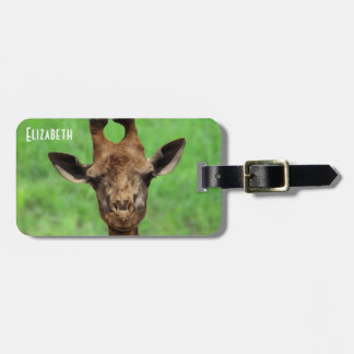 Young Girqaffe Luggage tag