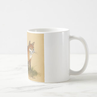 Young Gnome and Fox Mugs