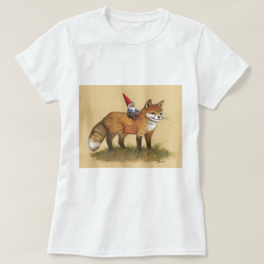 Young Gnome and Fox T-Shirt