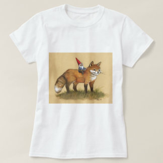 Young Gnome and Fox Tees