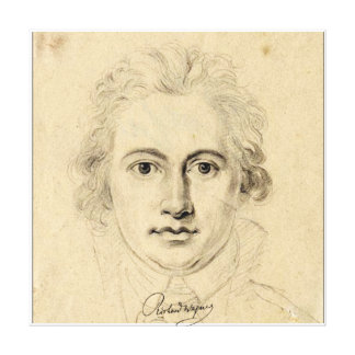 Young Goethe Canvas Print