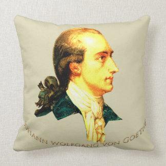 Young Goethe Throw Pillow