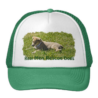 Young Golden Furred Puppy Pet-lover Gift Trucker Hat
