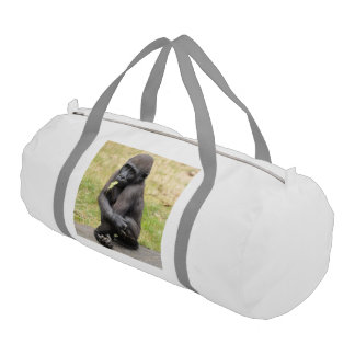young Gorilla Gym Duffel Bag