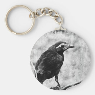 Young Grackle Keychain