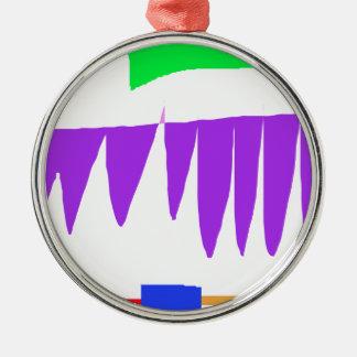 Young-Gradually Metal Ornament