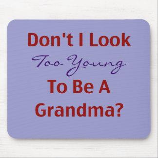 Young Grandma Mouse Pad