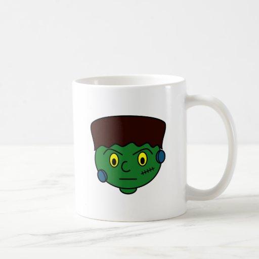 Young Green Frankenstein Coffee Mug