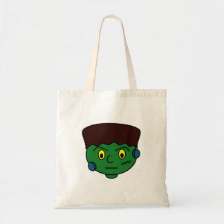 Young Green Frankenstein Tote Bag