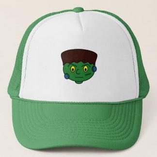 Young Green Frankenstein Trucker Hat