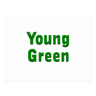 Young Green Postcard