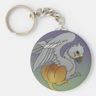 Young Gryphon Plain Keychain