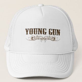 young gun trucker hat
