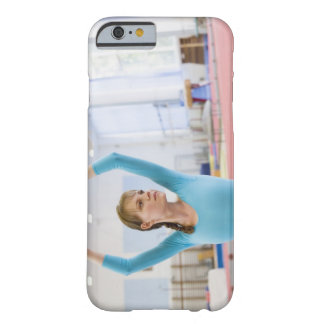Young gymnast posing barely there iPhone 6 case