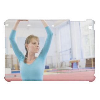 Young gymnast posing iPad mini case