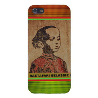 Young Haile Selassie Rastafari Case For iPhone SE/5/5s