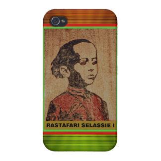Young Haile Selassie Rastafari iPhone 4 Cover