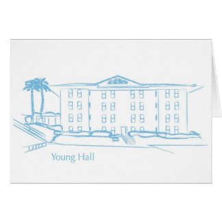 Young Hall Card